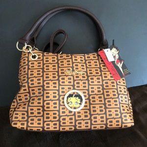 👜Betty Boop Faux Leather Handbag/Shoulder